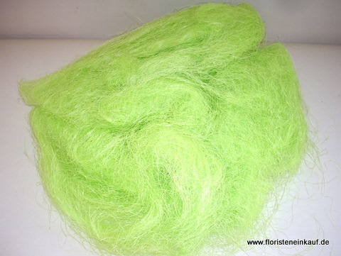 Sisal, chartreuse, ca.250gr.