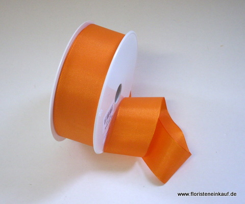Taftband 40mm x 50m, orange